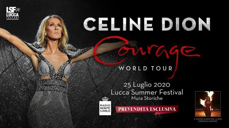 celine dion lucca summer festival 2019