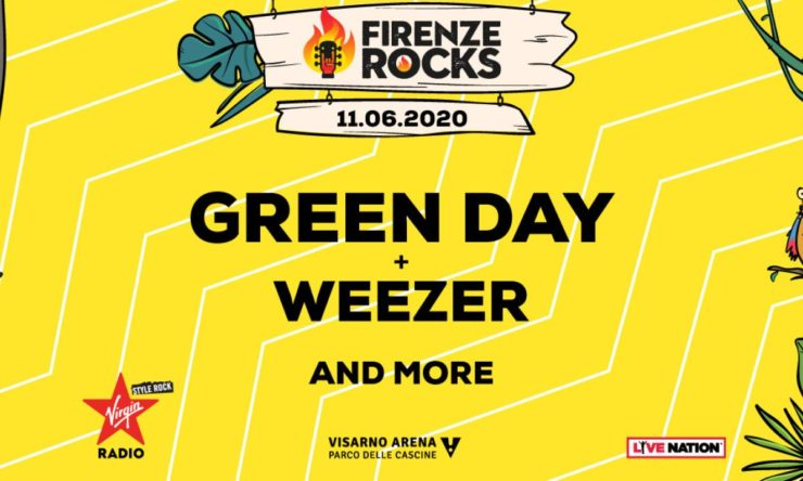firenze rocks 2020 green day