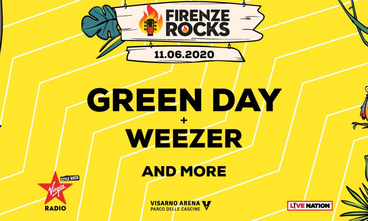 firenze rocks 2020 green day