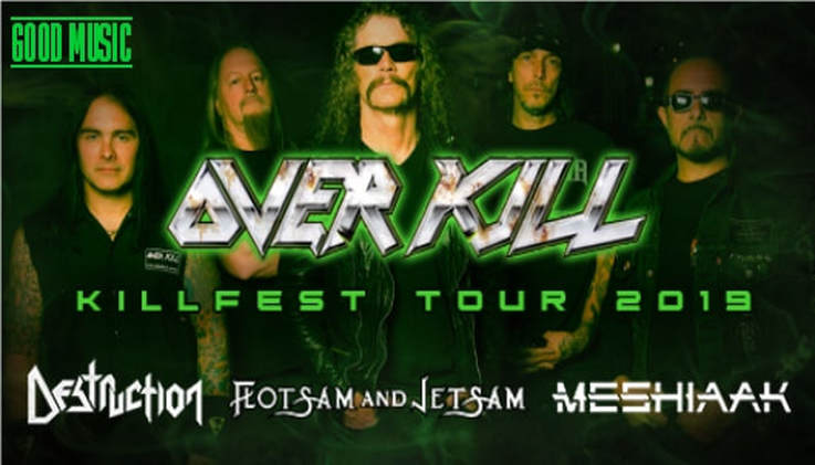 overkill killfest tour 2019