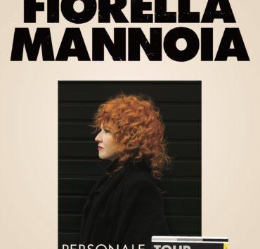 Fiorella Mannoia Personale Tour locandina