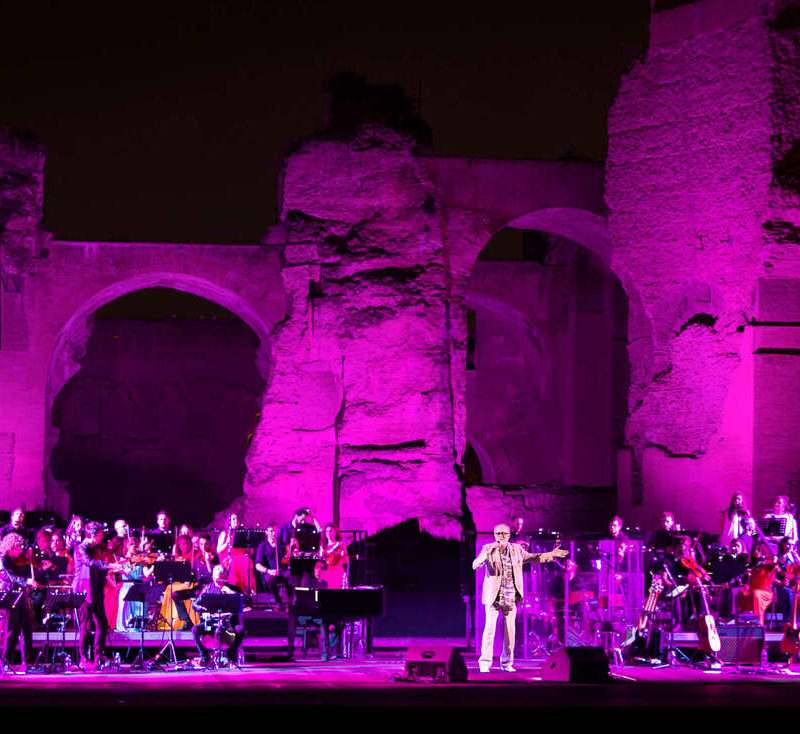 gaga symphony orchestra con francesco de gregori terme di caracalla roma ph giovanni canitano 2 orig