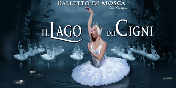 6. Balletto di Mosca La Classique Il lago dei cigni locandina