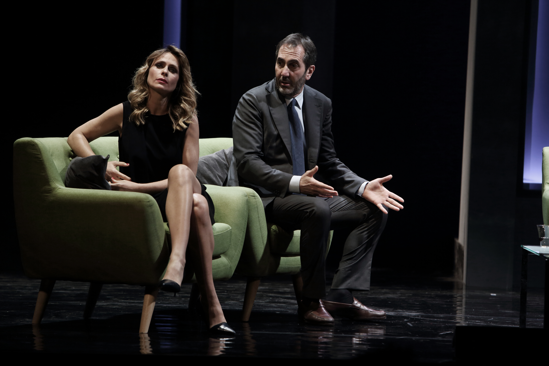 8. Foto La menzogna Serena Autieri e Paolo Calabresi
