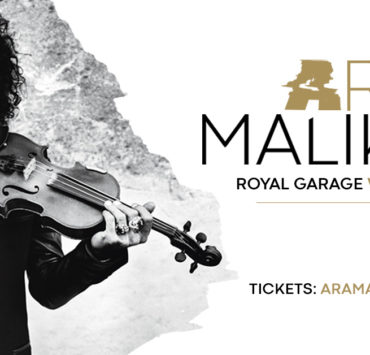 Ara Malikian Royal Garage World Tour locandina