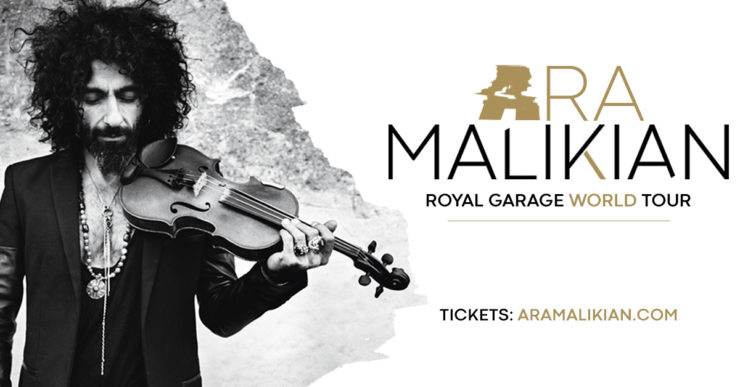 Ara Malikian Royal Garage World Tour locandina