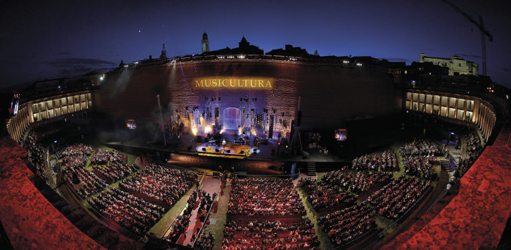 Arena Sferisterio Musicultura Panoramica 2