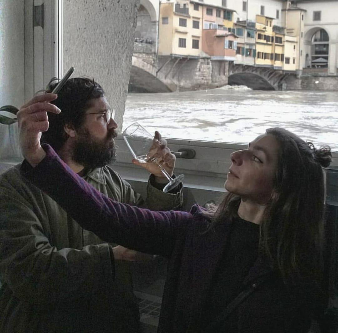 Gioacchino Turù e Vanessa V.
