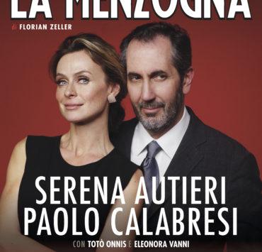 La menzogna Serena Autieri e Paolo Calabresi locandina