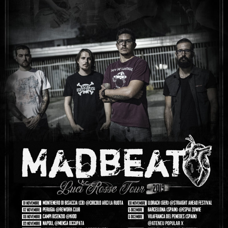 MAD BEAT Tour Poster 2019