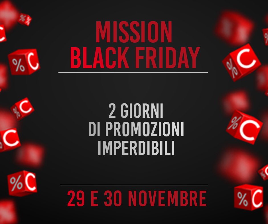 Mission Black Friday Teatro Celebrazioni