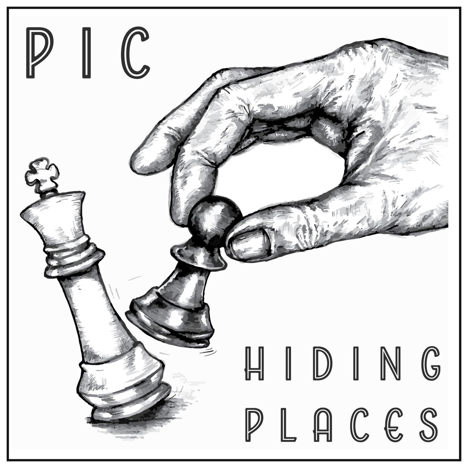 Copertina Hiding Places 1