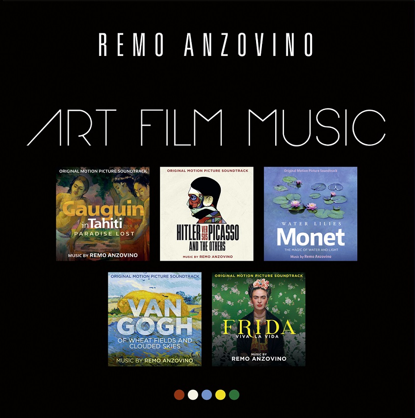 Cover REMO ANZOVINO ART FILM MUSIC