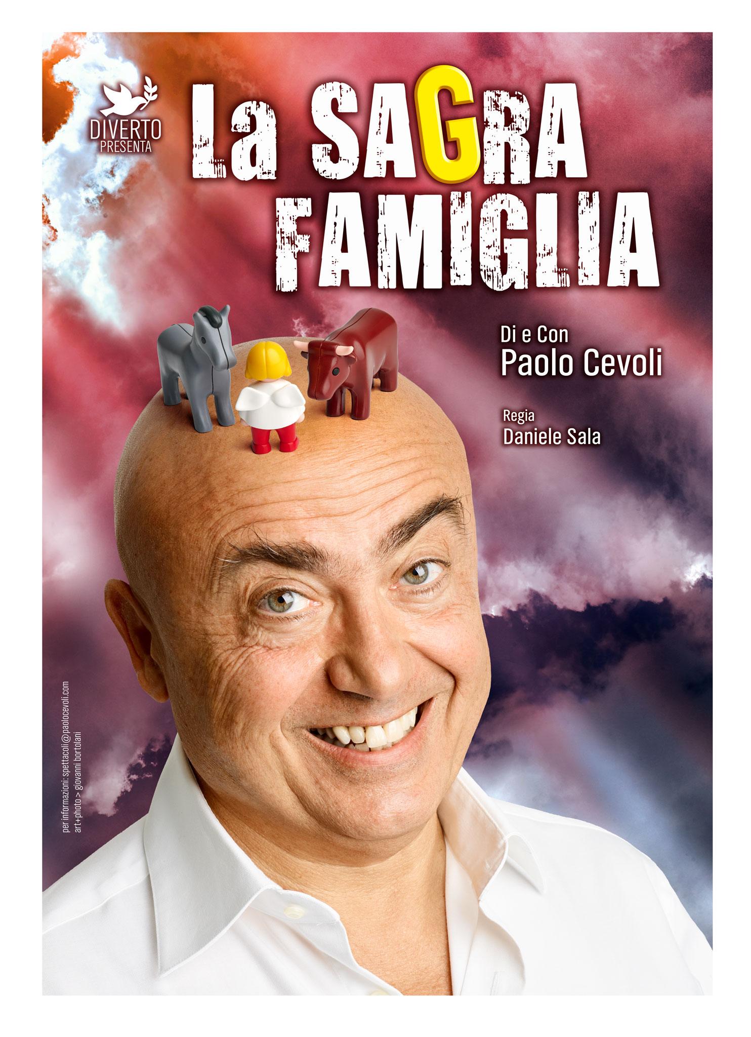 La Sagra Famiglia Paolo Cevoli locandina