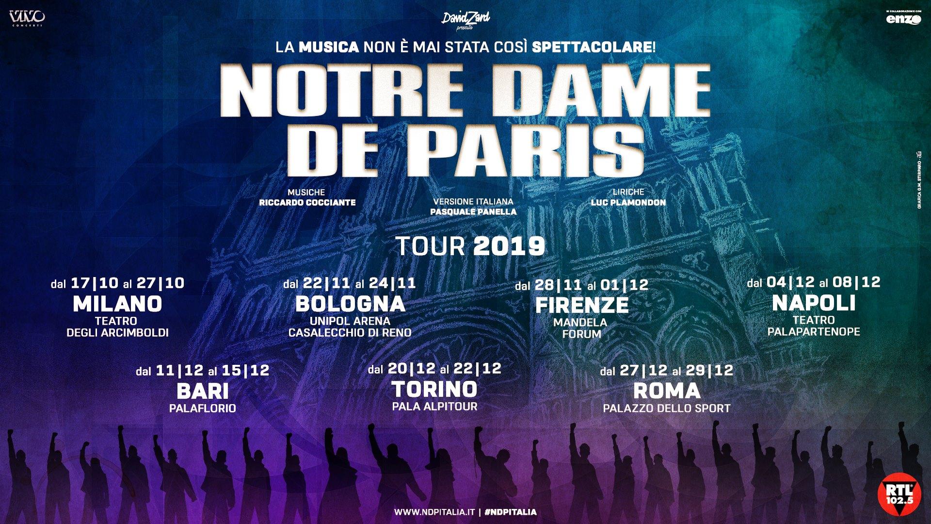 NOTREDAME TOUR2019