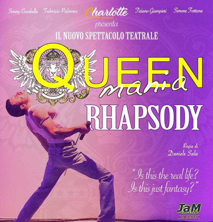 Queenmania Rhapsody locandina