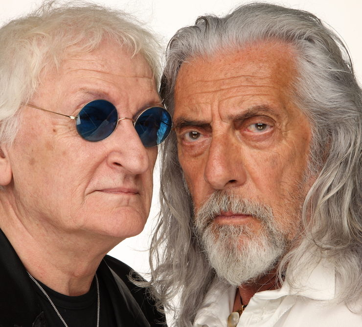 Shel Shapiro e Maurizio Vandelli