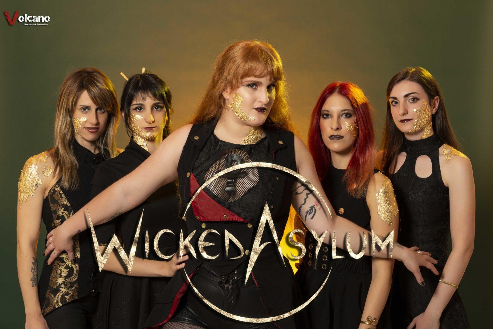 Wicked Asylum Volcano Records 3