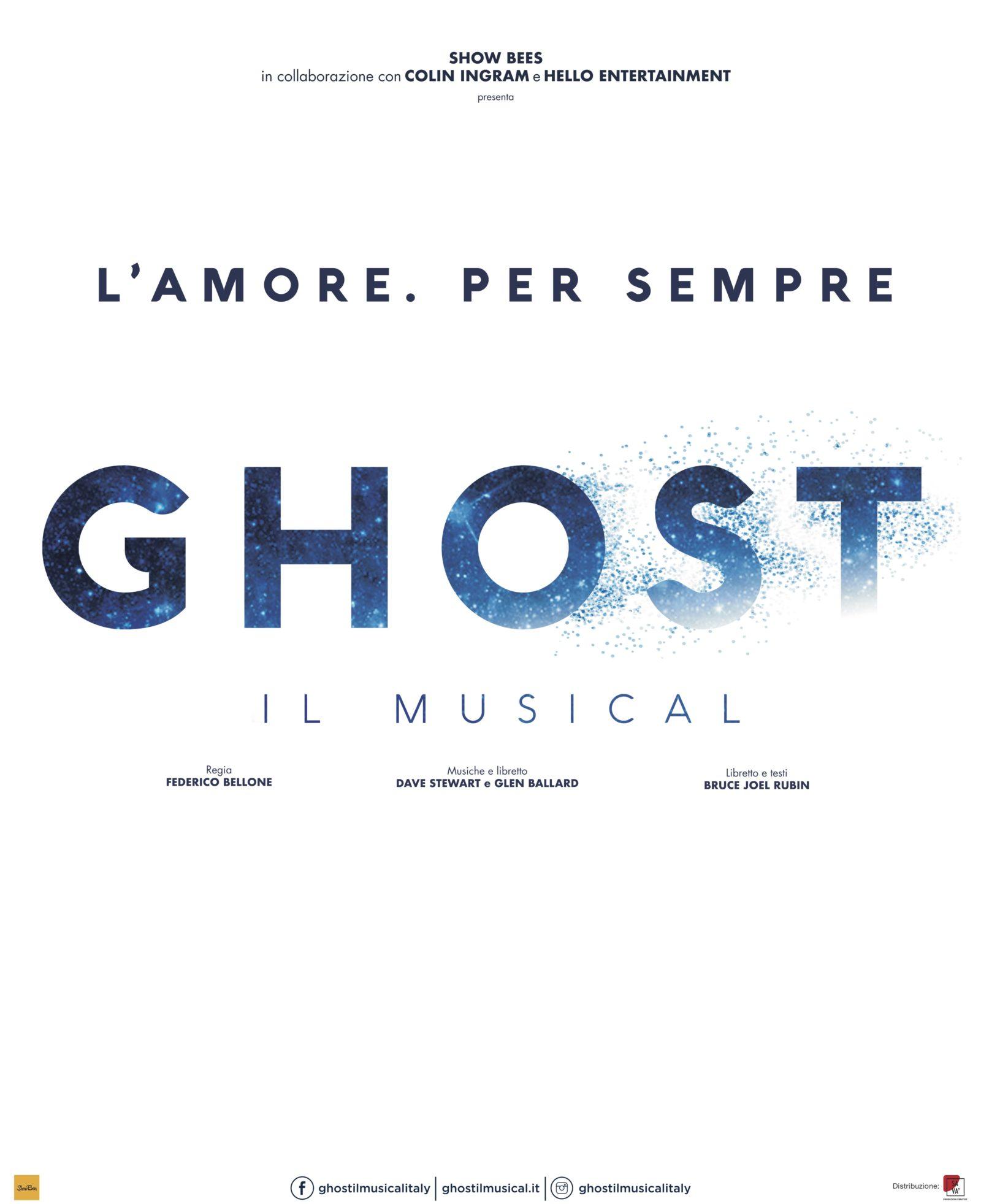 1. Ghost Il Musical locandina