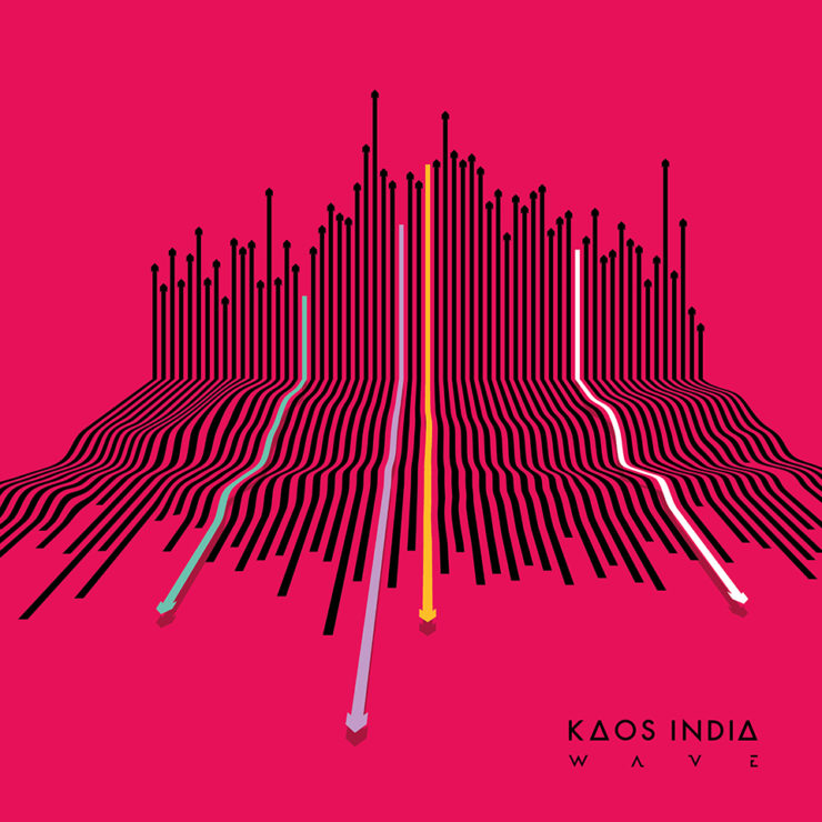 KAOS INDIA album cover art WAVE 2019