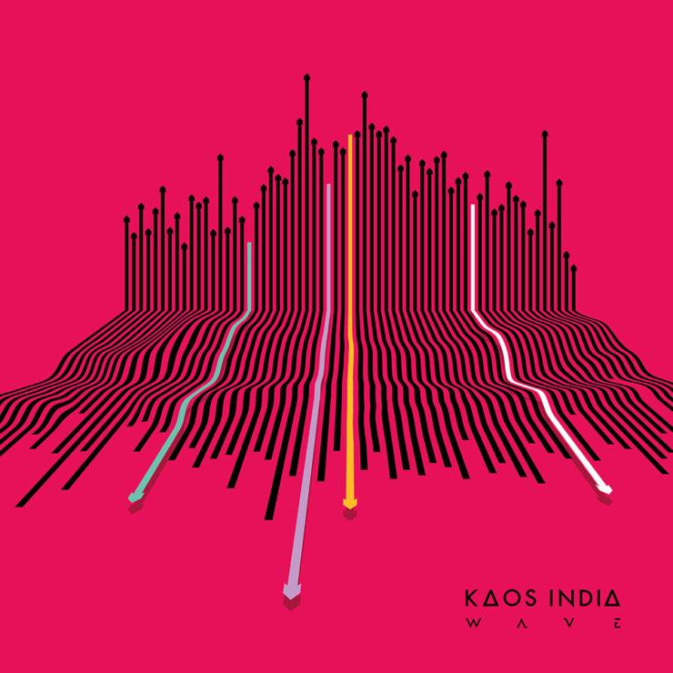 KAOS INDIA album cover art WAVE 2019