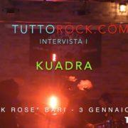 KUADRA Intervista BARI