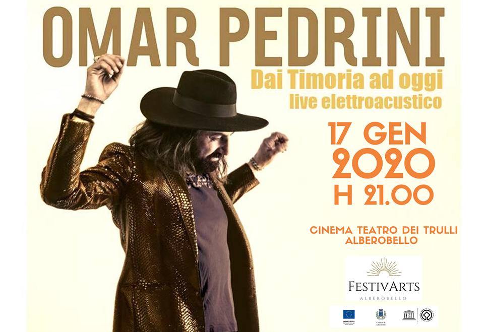 Omar Pedrini concerto Alberobello