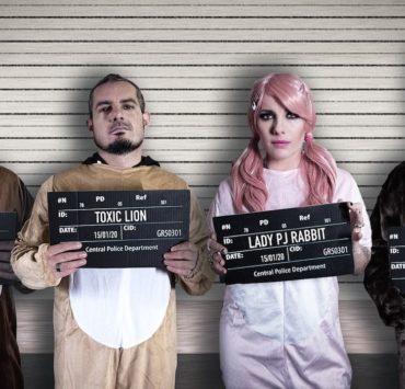 band mugshot