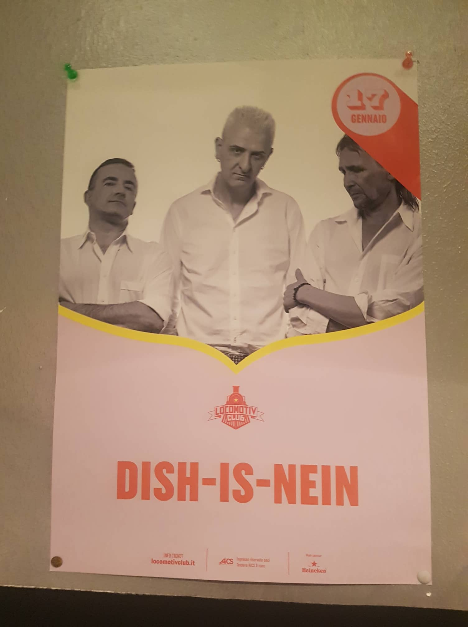 dish is nein locomotiv locandina