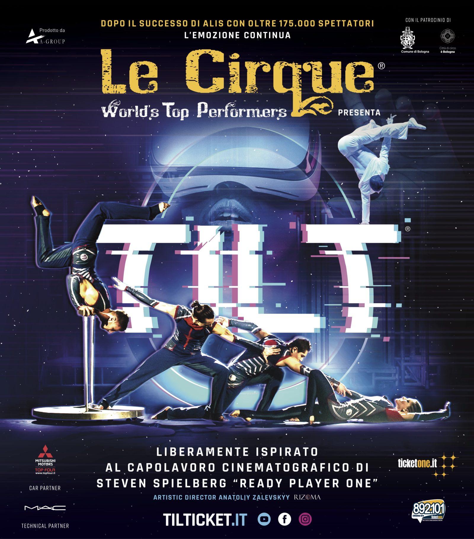 le cirque tilt locandina