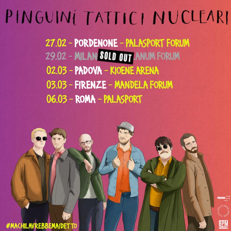 pinguini tattici nucleari 1