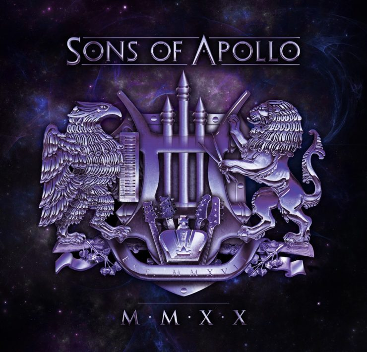 sons of apollo 20 CD