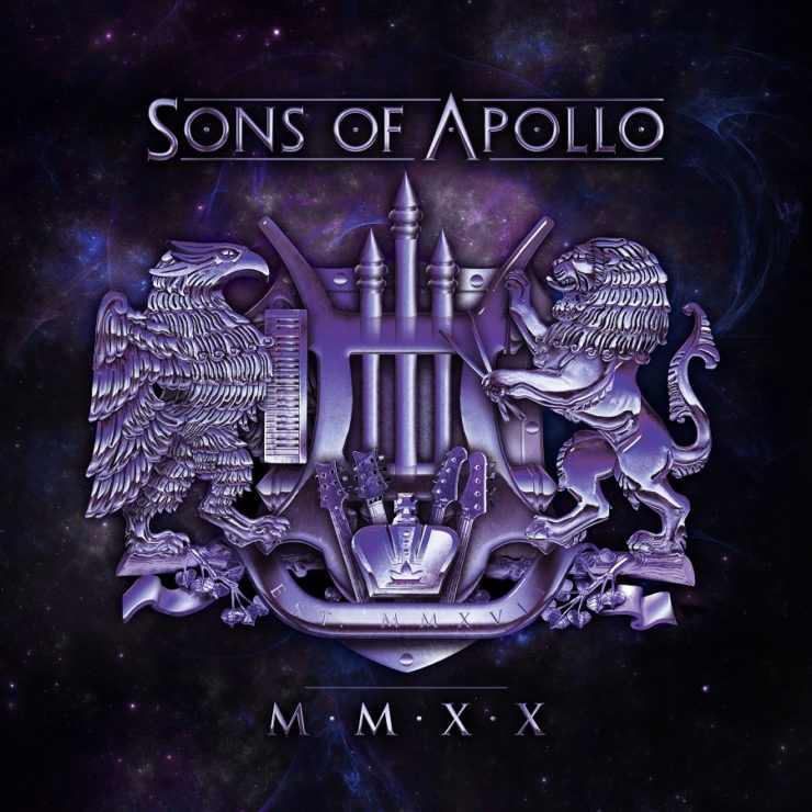 sons of apollo 20 CD