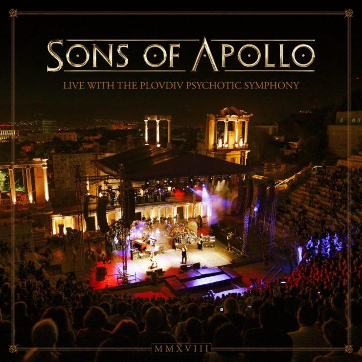 sons of apollo live 19 CD