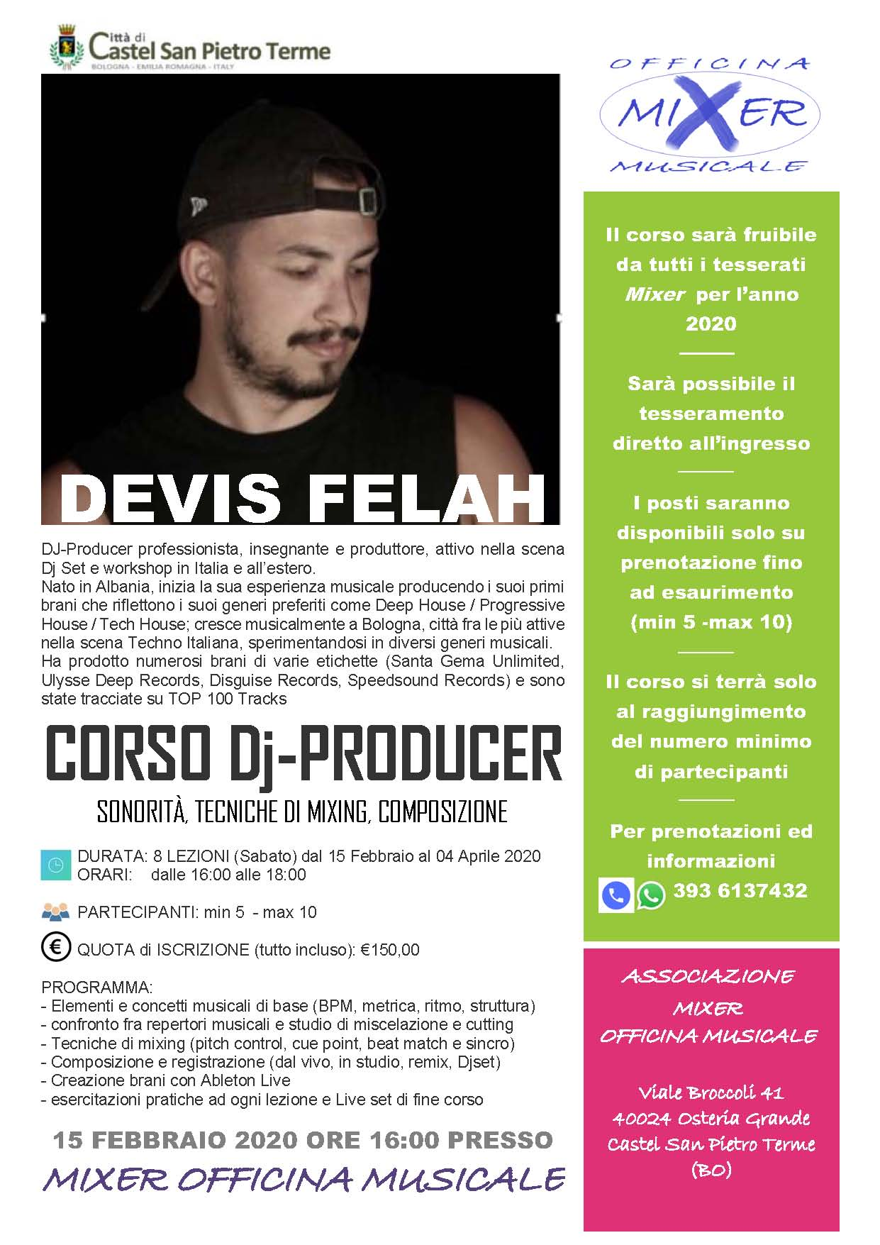Corso DJ 1