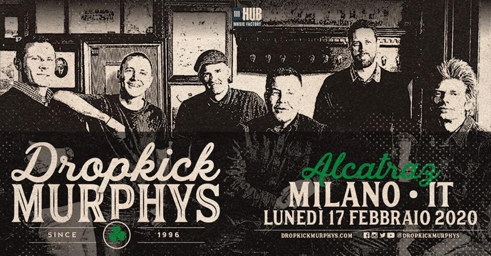 Dropkick Murphys Milano 2020 1
