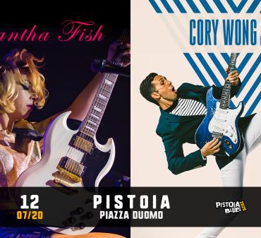FISH WONG Pistoia Blues Festival