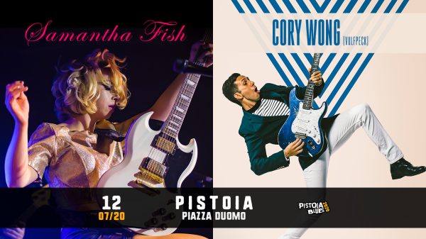 FISH WONG Pistoia Blues Festival