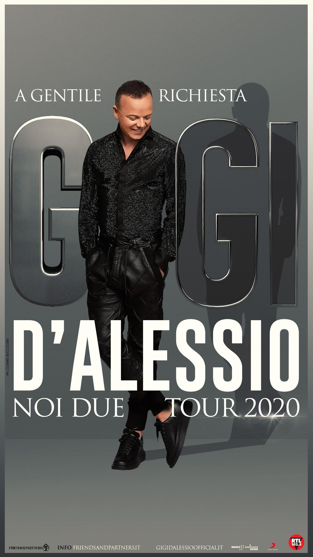 GIGI DALESSIO TOUR 2020