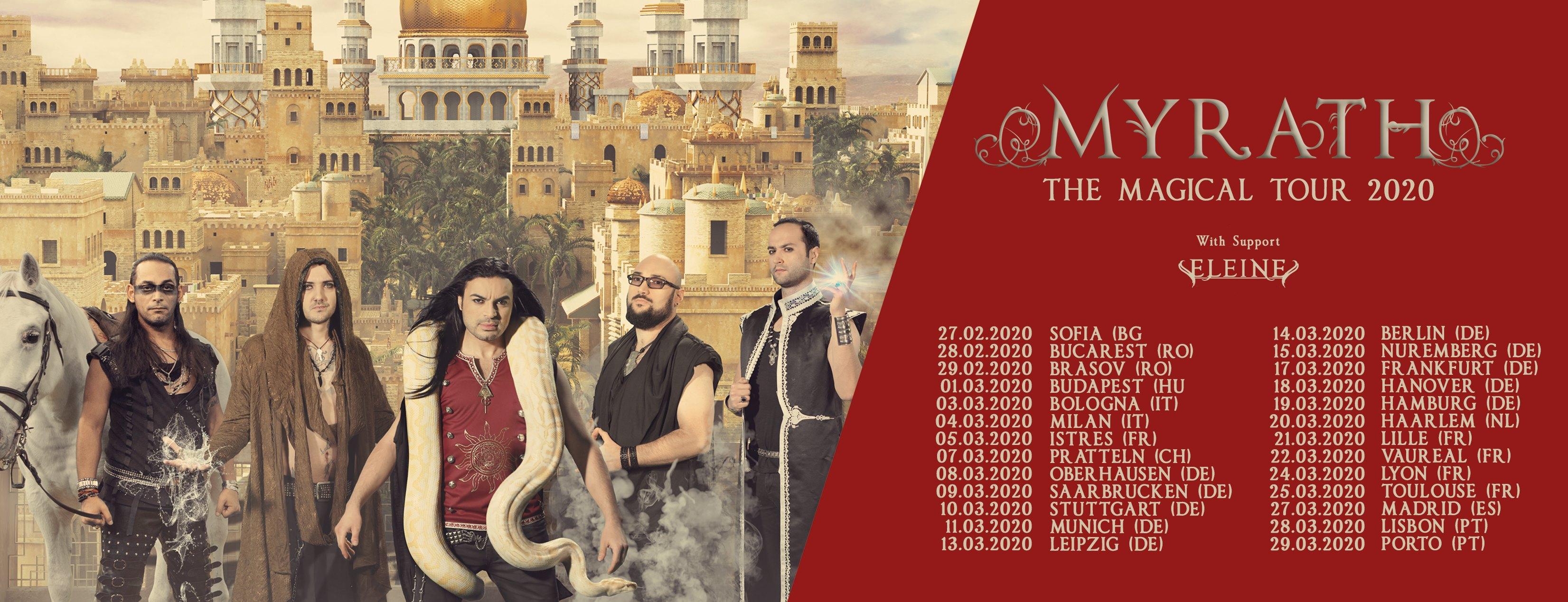 Myrath Magical Tour 1