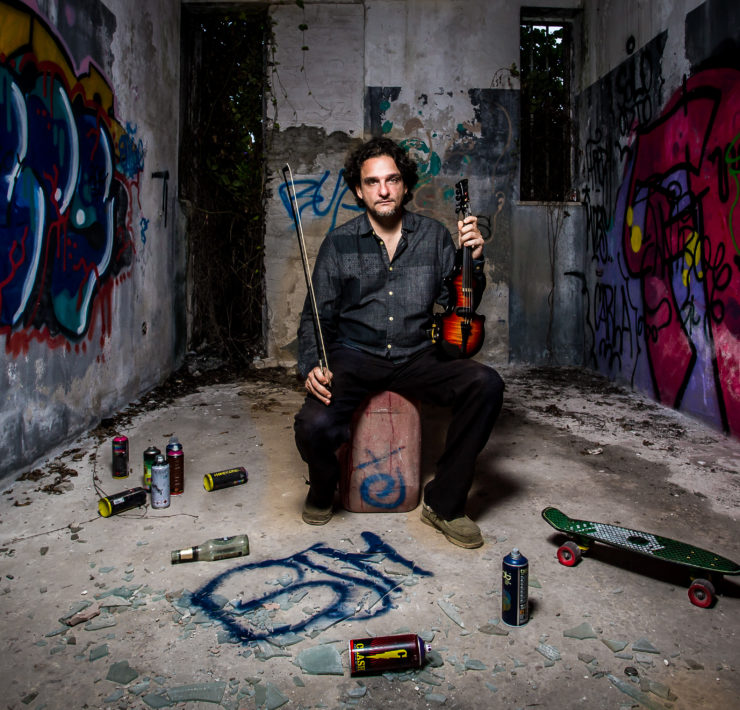 The violinist painter