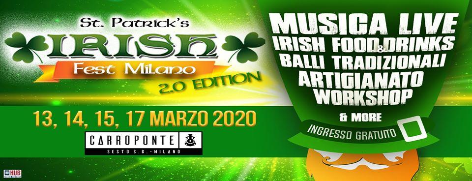 irish fest milano 2020
