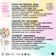 nos primavera sound 2020 flyer