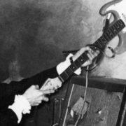 pete townshend smash guitar the who