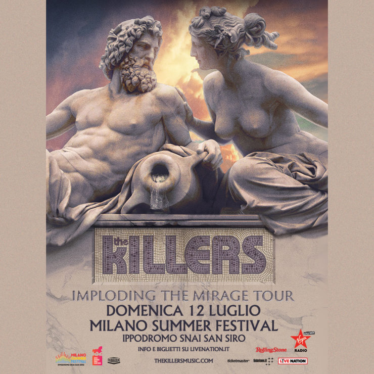 the killers milano summer festival 2020