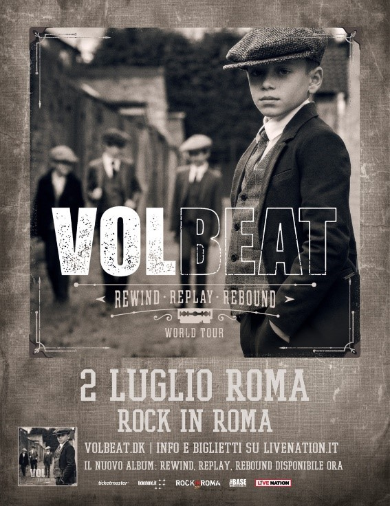 volbeat rock in roma 2020