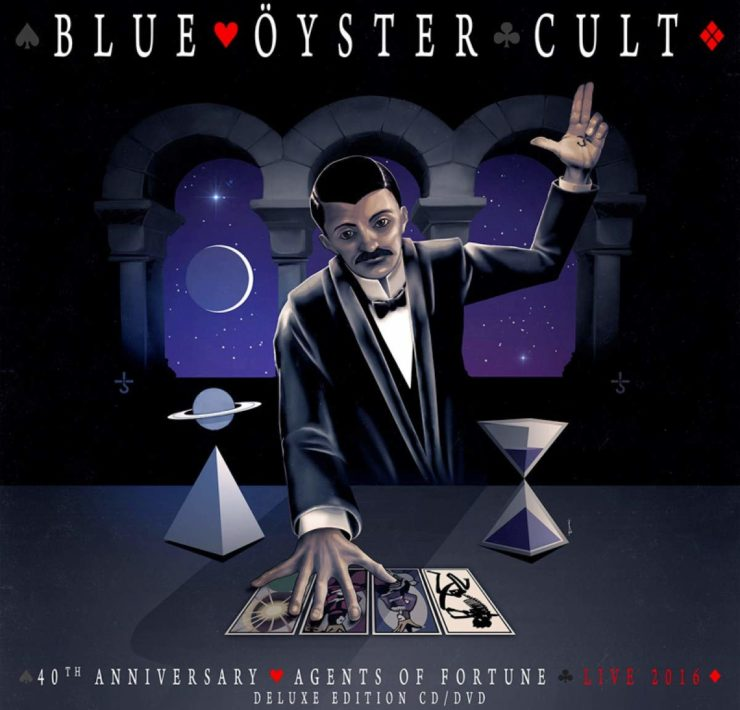 blue oyster cult 40 fortune CD