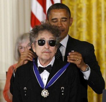bob dylan obama presidental medal of fredom