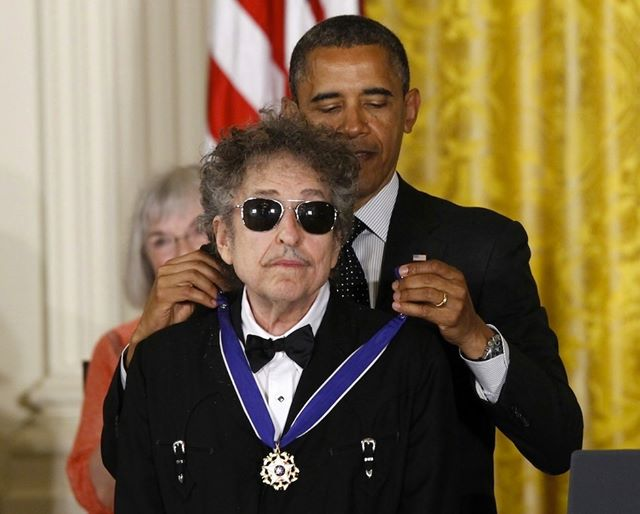 bob dylan obama presidental medal of fredom
