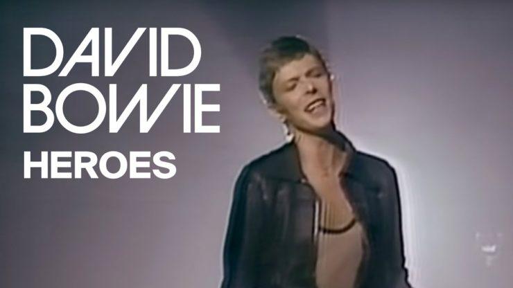 david bowie heroes